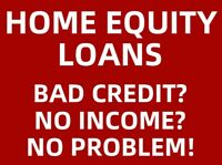 BAD CREDIT EQUITY LOANS, HOME REFINANCING FREDERICTON  NB