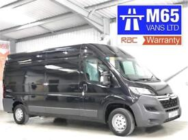 2016 CITROEN RELAY ENTERPRISE BLACK 2.2HDi 130 L3H2 3.5T LWB LONG WHEELBASE VAN