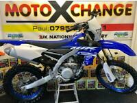2018 YAMAHA WRF 450..900 MILES..ONE OWNER..ROAD REGISTERED...£5995.MOTO X CHANGE