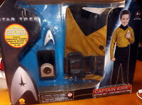 Star Trek Captain Kirk Halloween Costume Size 4-6 MIB