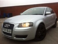 2007 AUDI A3 1.9 TDI SPECIAL EDITION RS4 ALLOYS FACELIFT MINT IN AND OUT