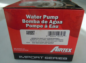 Airtex Water Pump AW9097, 86-97 Honda Acura Sterling