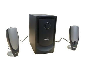Dell Altec  A425 Stereo Computer Speakers with Subwoofer