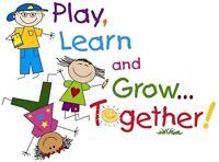 CHILD CARE SPACE AVAILABLE