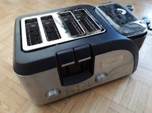 4 Slice + Egg and Muffin Toaster - New