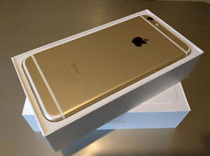 MINT CONDITION IPHONE 6S PLUS - WHITE AND GOLD!