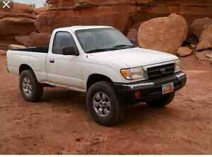 toyota or nissan 4x4 truck!