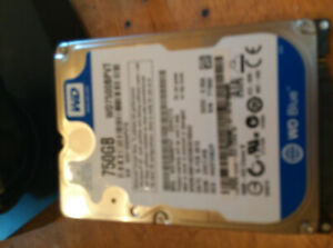 750 Gig western digital laptop drive