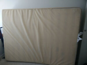 "Queen bed mattress 14"" - $100"