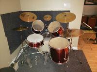 Westbury - full drum set - ensemble complet de batterie