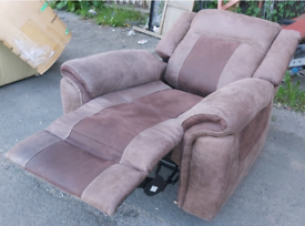 Chair - Quality Top Range AMX Extra Comfy Electric Recliner Chair. Fre