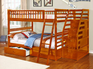 NEW!  Full over Full Bunk Bed w/ Storage Drawers!  FREE Delivery Comox / Courtenay / Cumberland Comox Valley Area image 6