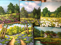 NATURE ACRYLIC PAINTING CLASSES FOR ADULTS IN APRIL