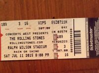 Pair (2)Stones Tickets@less than cost Buffalo July 11th