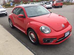 2018 Beetle- 296.53/month, 4000km now-lease take over