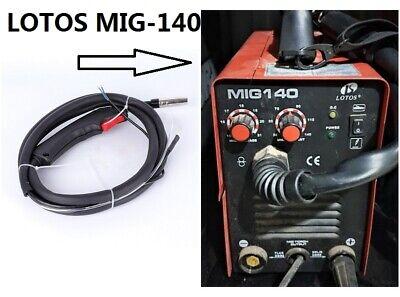 Mig Gun Or Parts Fit Lotos Mig 140 140 Amp Mig Wire Welder Flux Core Welder