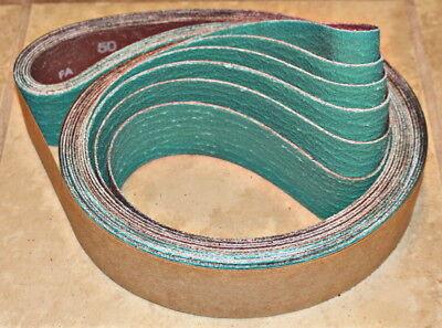 2 x 72  AZ - Zirc Knife Making Coarse Grit Sanding Belt Assortment 6 Pcs