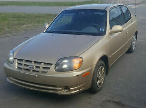 2003 Hyundai Accent Coupe (2 door)