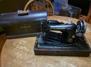 1930's vintage singer sewing machine Excellent