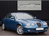 Jaguar S-Type 4.2 V8 SE *Adriatic Blue + Dove Grey + Exceptional Condition