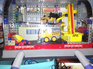ROKENBOK System LOT: Control Center, Controller, Conveyer Belt..