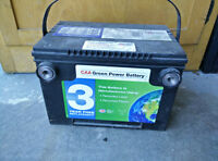 CAA Green Power Battery 75 with 650