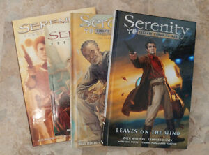 Serenity (Firefly) trades, first four volumes
