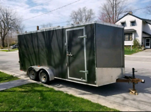 2013 - 16' Discovery DXV dual enclosed Trailer