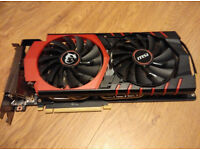 MSI NVIDIA GTX 980 GAMING 4G Twin Frozr superb condition