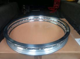 Norton full width hub Jones alloy spoked rim