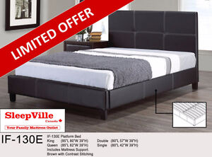 KING COMBO BED & MATTRESS - FREE SAME DAY DELIVERY & SETUP