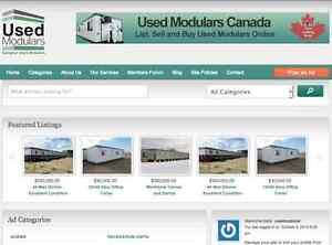 USED MODULARS SASKATOON- List and  Buy Used Industrial Modular