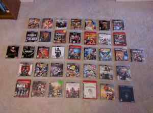 HUGE PS3 Collection, 37 games for $120 total!