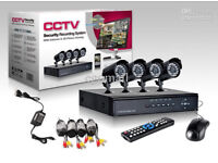 cctv security kit camera