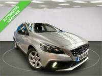 2014 14 VOLVO V40 1.6 D2 CROSS COUNTRY LUX 5D DIESEL AUTOMATIC LEATHER CHEAP TA