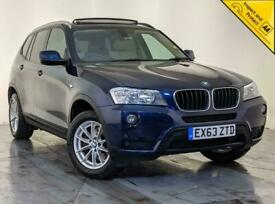 image for 2013 63 BMW X3 XDRIVE20D SE AUTO SAT NAV REVERSING CAMERA PANORAMIC GLASS ROOF