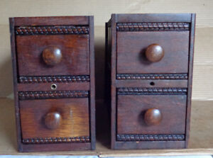 Sewing Machine Drawers with Holders