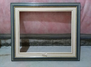 Vintage oil painting  picture frame
