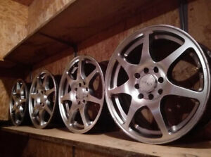 Sell set from 4 rims R 15