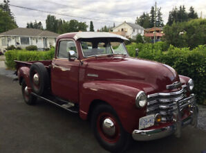 1950 Chevrolet Classic 1 ton Pickup 3800 Series