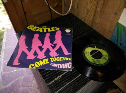 Beatles come together something disco vinile 45...