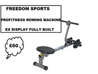 PROFITNESS ROWING MACHINE EX DISPLAY FULLY BUILT (REDUCED)