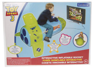 Toy Story Inflatable Rocket Interacti