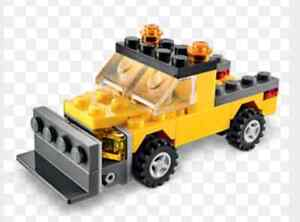 Lego Snowplow Parts & Instructions BRAND NEW SEALED