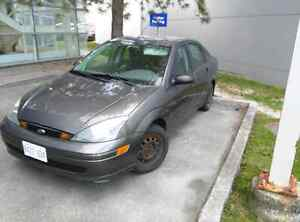 2003 ford focus. Low km