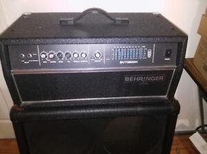 Behringer Ultrabass BVT5500 550w Bass Amp Head