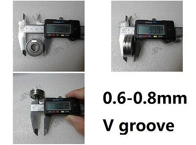 0.6-0.80.9 V Mig Welder Wire Feed Drive Roller .023-.030 Mig-160 Weld Parts