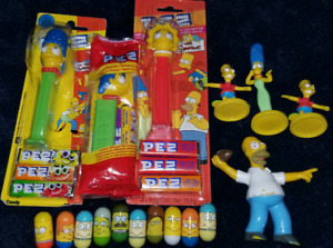 Simpsons pez,  mighty beans and figures