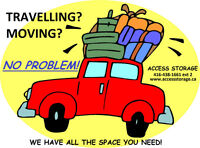 TRAVELLING and NEED OF A STORAGE?  CALL US NOW!