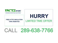 ***FREE ATTIC INSULATION THRU REBATES**CONTACT FOR DETAILS***